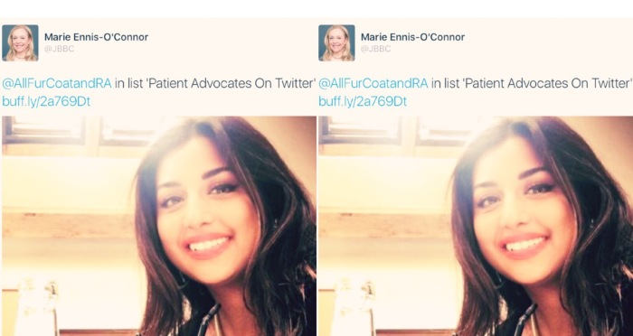 Patient Advocate on Twitter