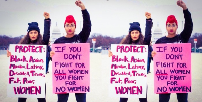 If you don't fight for ALL women, you fight for NO women
