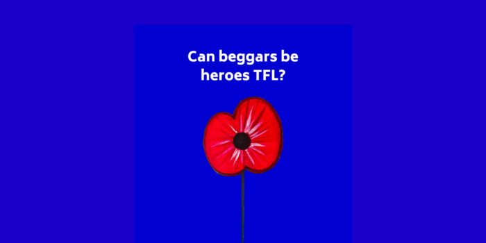 Are beggars choosers TFL?